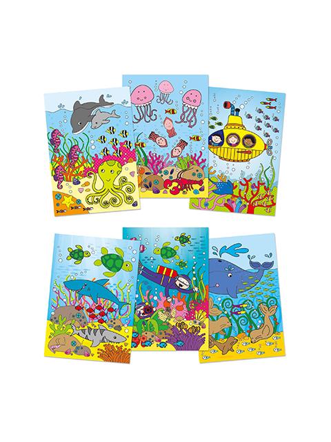 Galt Water Magic Deniz Altı Sihirli Boyama Kitabı 4250 Tl Kdv